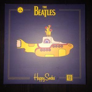 Happy Socks Men's The Beatles Collector 3-Pack Box